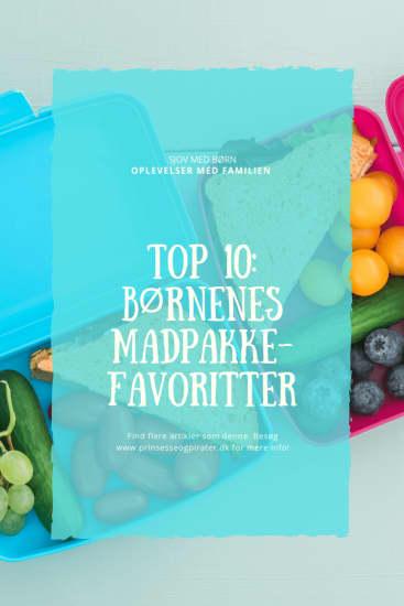 Top 10: børnenes madpakke-favoritter