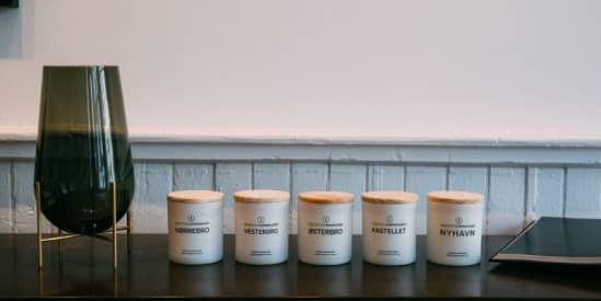 Scent of Copenhagen har stor succes med at sælge duftlys