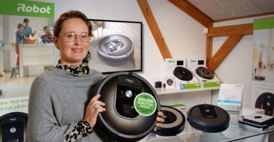 Witt har solgt mere end 500.000 robotstøvsugere i Norden