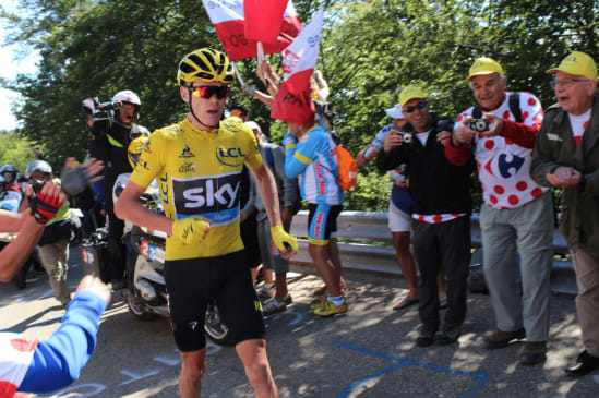 Chris Froome styrtet - misser årets Tour de France
