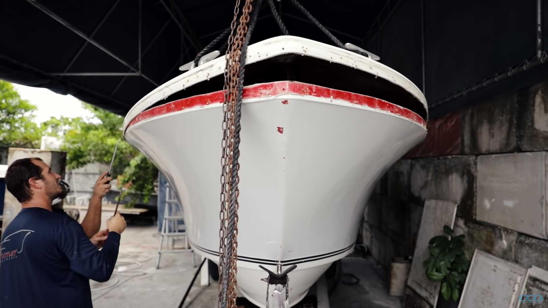 1973 SeaCraft Tear Down