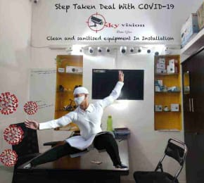 Office Staff Step Taken By Sky Vision To Deal With COVID-19 In bangalore