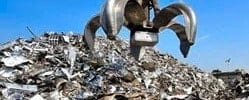 Metal waste recycling