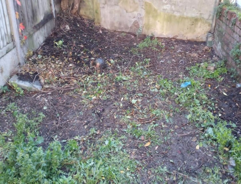 Garden rubbish clear after cddl recycling collection service