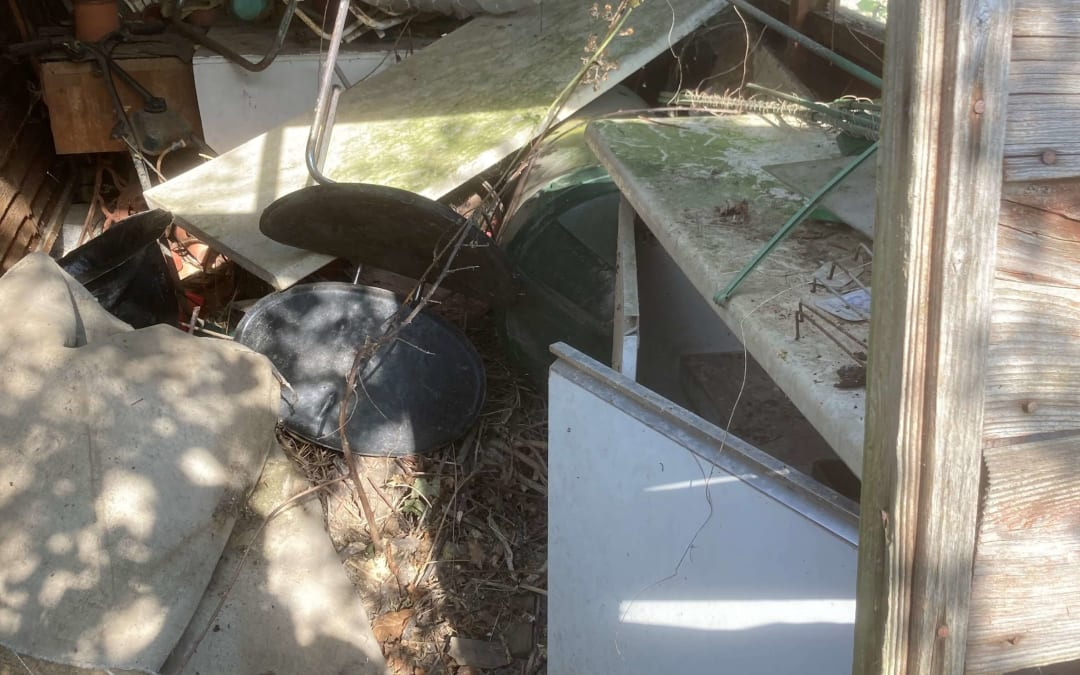 shed dismantle and removal
