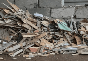 Waste wood, turning into a commodity