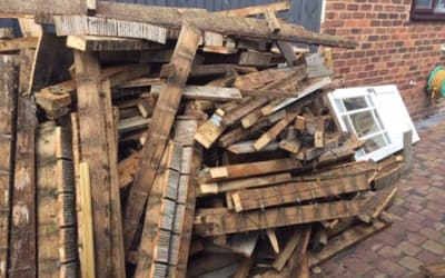 Wood Waste Tonnages On The Rise