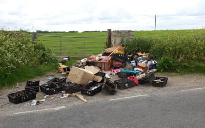 How to prevent having your waste fly tipped