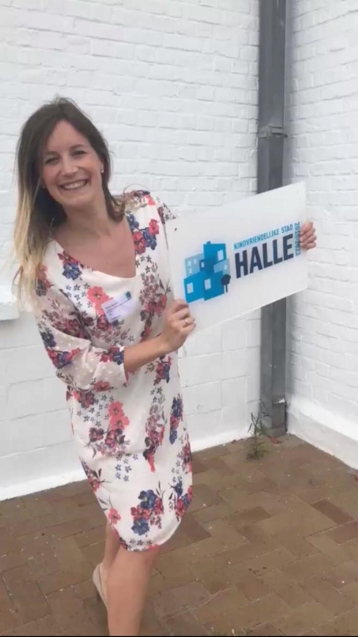 Halle ontvangt label kindvriendelijke stad!