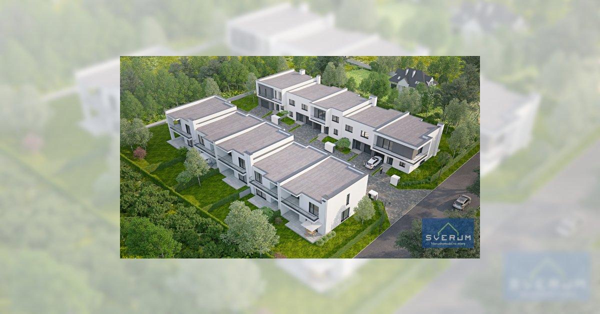 Dom w zabudowie szeregowej GRABÓWKA Sverum