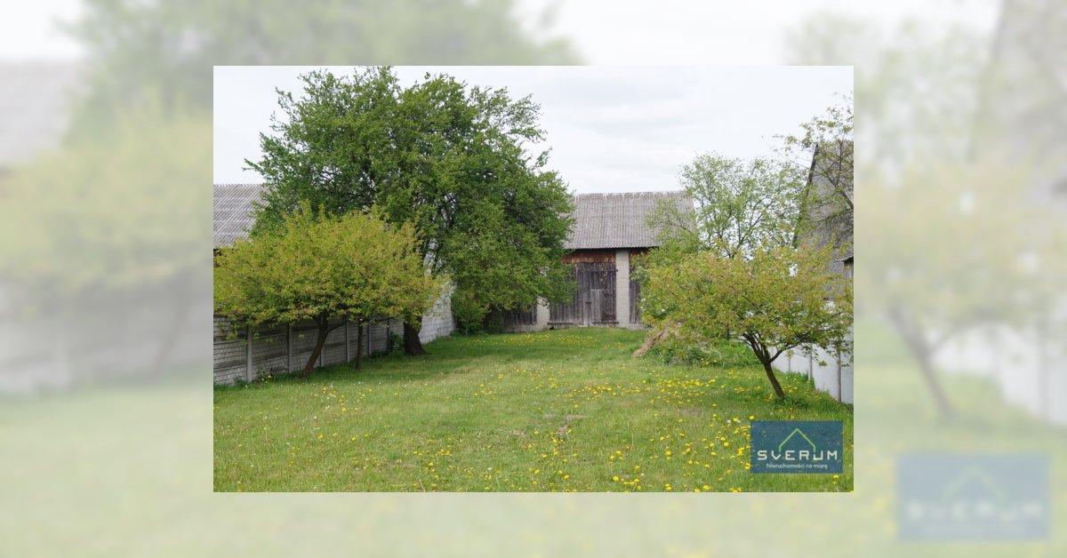 Dom z dużą działką w miejscowości Lgota .