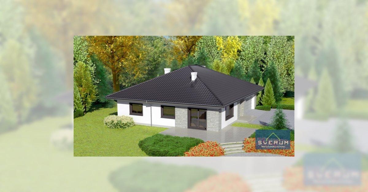 Nowy dom parterowy z garażem blisko Częstochowy