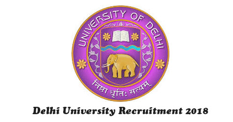 Delhi University Job Vacancy 2018 for Finance Officer
