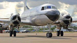Convair C-131 cargo plane