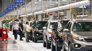 Japan car plant