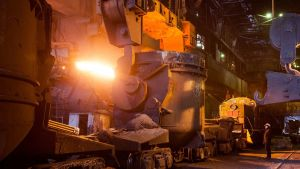 steel plant in Chelyabinsk