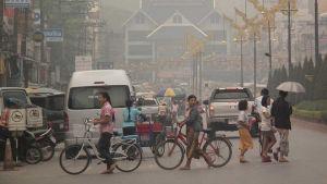 Northern Thailand dust