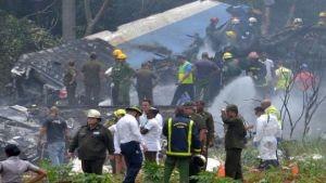 aircraft crash in Cuba