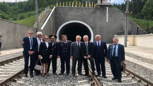 Beskyd railway tunnel