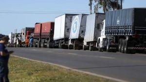 Brazilian truck drivers