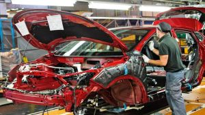 Car production in UK