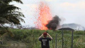 Hawaii escape route volcano