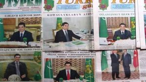 Turkmenistan newspapers