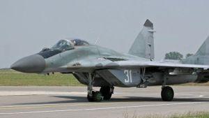 Bulgaria fighter jet