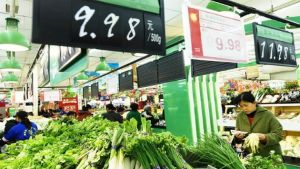 China consumer prices