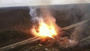 China gas pipeline explosion