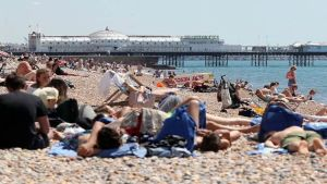 Heatwave hits Britain