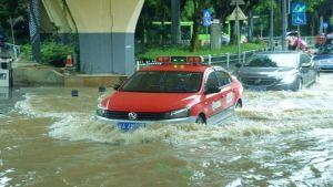 Heavy rain China