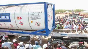 Kenya oil export