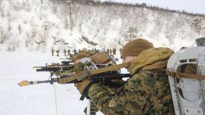 Marines in Norway