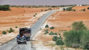 Mauritania road