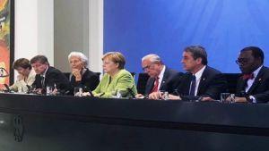 Merkel leaders