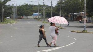 Nicaragua general strike