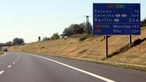 Poland highway