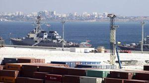 Ukraine Black Sea port