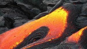 Volcano crystals