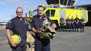 Australian aviation firefighters