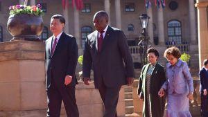 Cyril Ramaphosa Xi Jinping