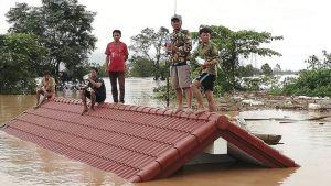 dam collapse in Laos