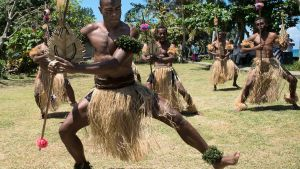 Fijian warriors