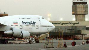 Iran plane repair