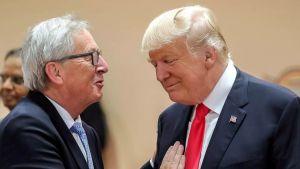 Juncker Trump