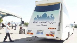 mobile mosques