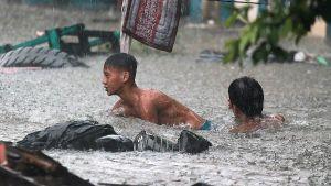 rains in Philippines