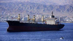 Red Sea ship