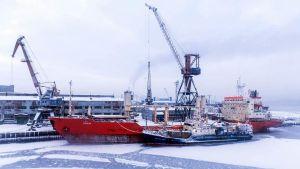 Russia ports